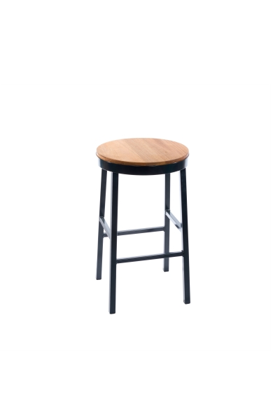 BREWHOUSE STOOL HIGH HARDWOOD