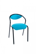 CASSIA CHAIR UPHOLSTERED SEAT AND BACK W