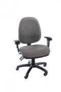 COMPUFORM TASK CHAIR HIGH BACK WITH ARMS W