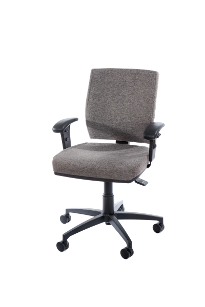 ECLIPSE TASK CHAIR MEDIUM BACK WITH ARMS W