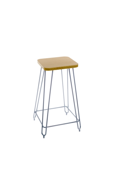 HAIRPIN STOOL HIGH