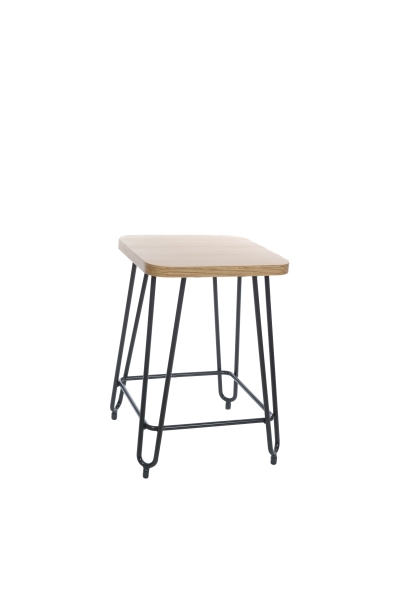 HAIRPIN STOOL LOW W