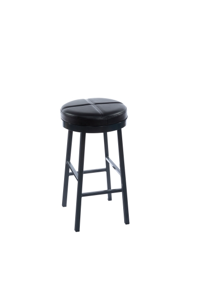 SMOKEHOUSE STOOL HIGH UPHOLSTERED