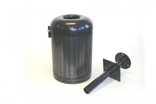 perforated-mesh-litter-bins